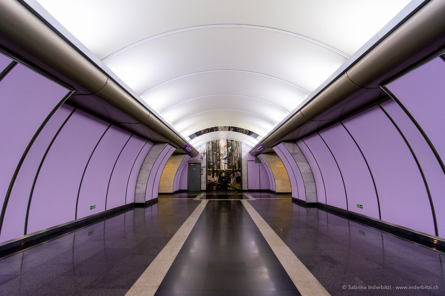 Metro, St. Petersburg, Volkovskaya-2