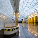 Metro, Mezhdunarodnaya, St. Petersburg-2