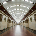 Metro, Narvskaya, St. Petersburg