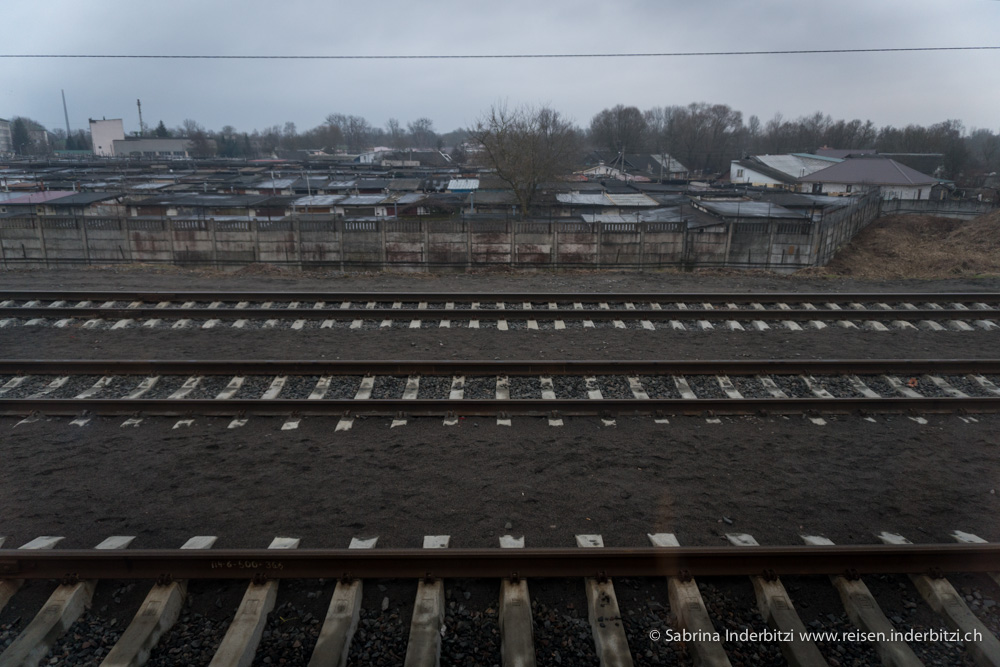 Gernzbahnhof Polen/Belarus